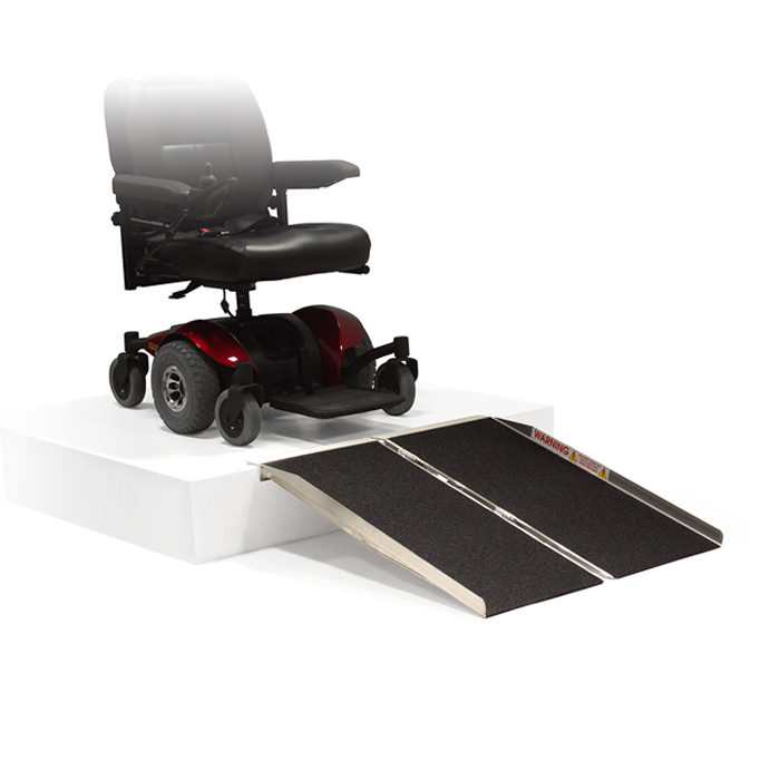 PVI Singlefold ramp for scooters or wheelchairs