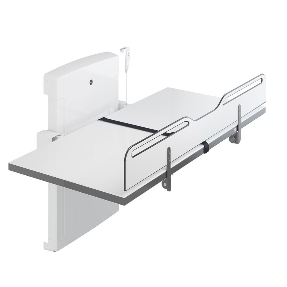 Pressalit Manually foldable changing table