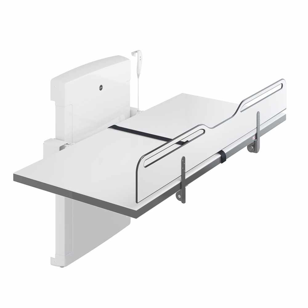 Pressalit Electrically foldable changing table