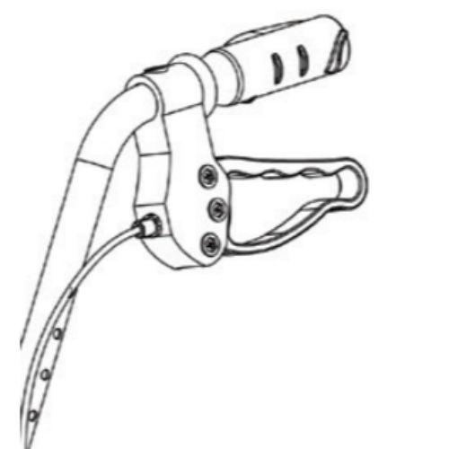 """ProBasics Left Hand Brake System for Probasics 8"""" Rollator"""