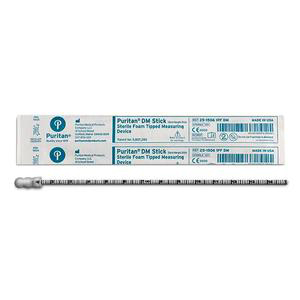 Puritan Dm Stick with Foam Tip Wound Measuring Device, Sterile - 50/Box