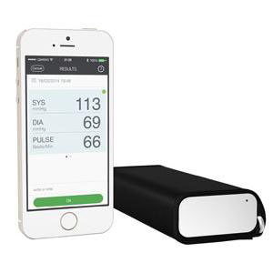 """Qardio Arm Smart Blood Pressure Monitor 1-1/2"""" x 5-1/2"""" x 2-7/10"""""""