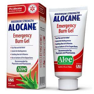 Quest Alocane Maximum Strength Emergency Room Burn Gel, 2.5 oz