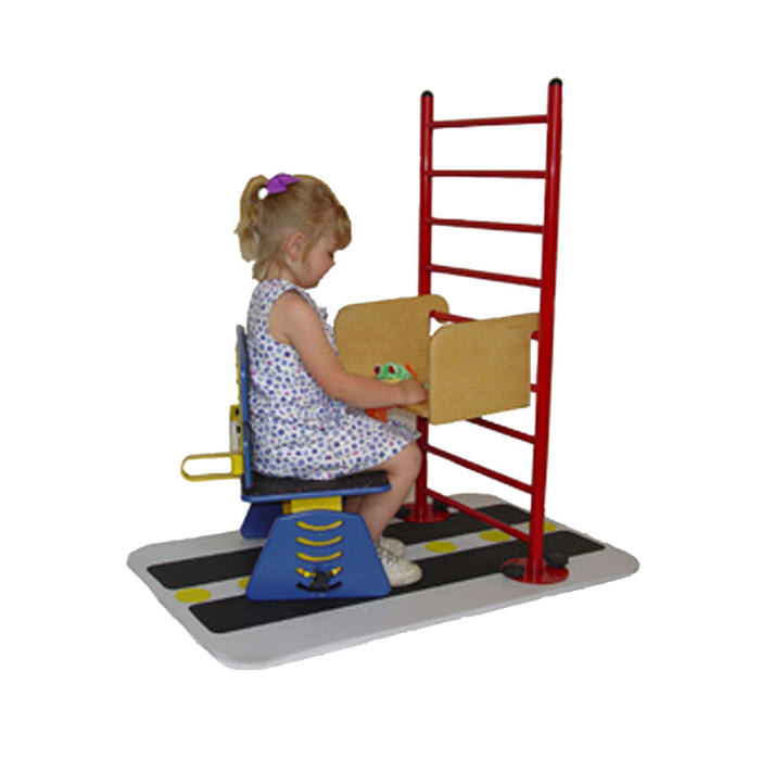 All by-myself system - Rise & shine ladder and lift-off chair