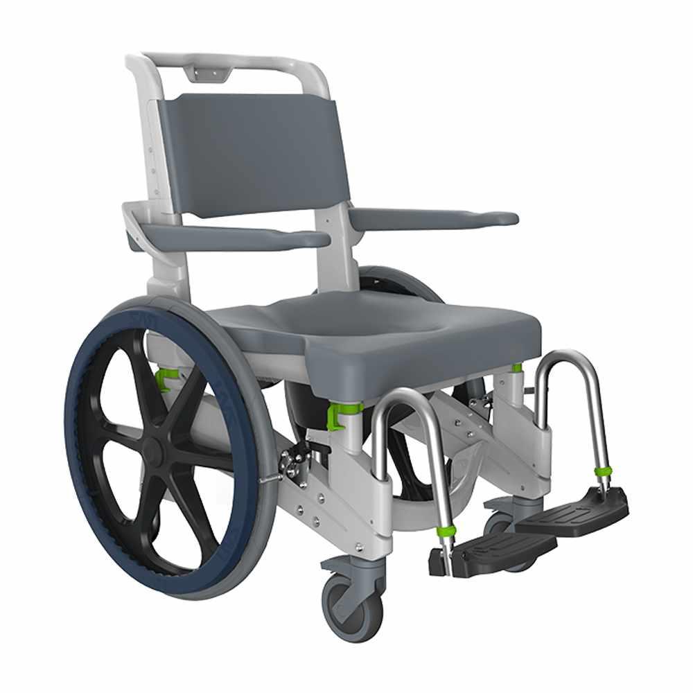 Jaz Attendant propelled shower commode chair