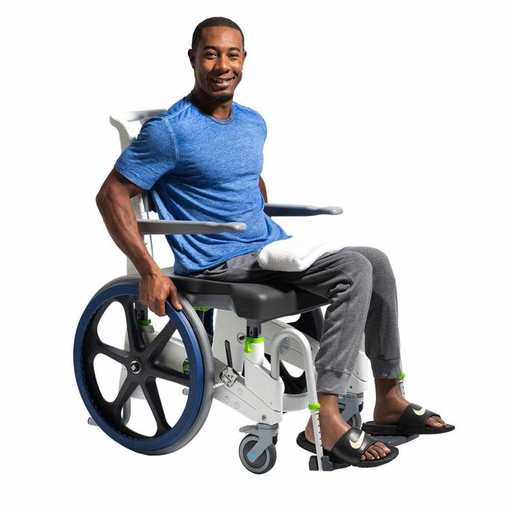 Jaz-SP shower and commode chair