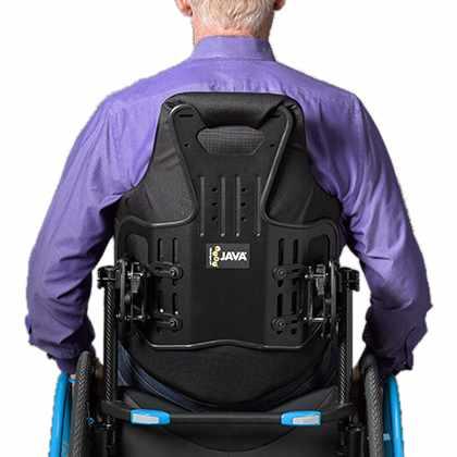 Ride Designs Java grande back support