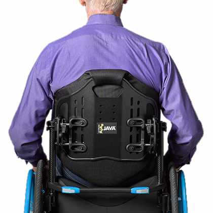 Ride design Java tall back support