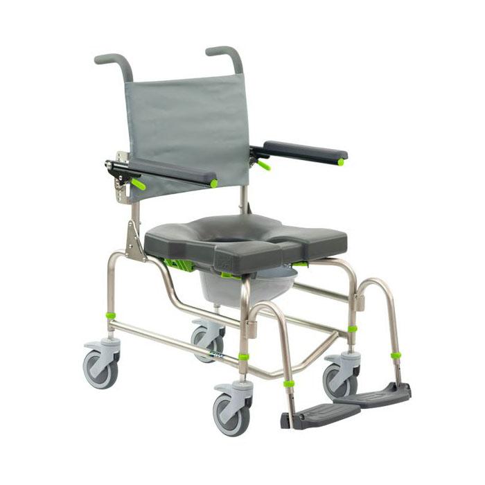 Raz design AP rehab shower commode chair