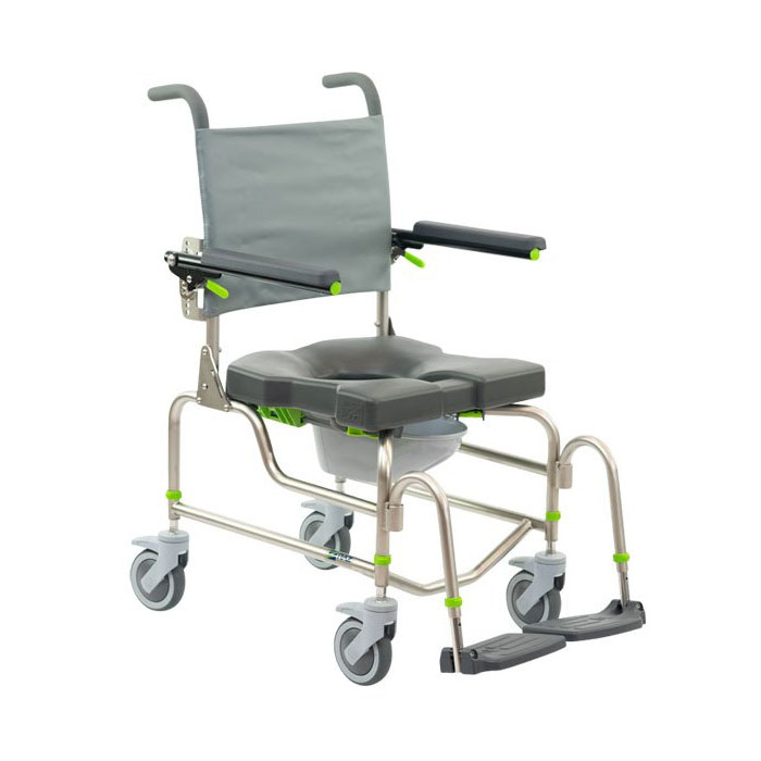 Raz design AP rehab shower commode chair