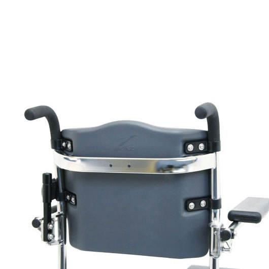 Raz design attendant propelled shower chair