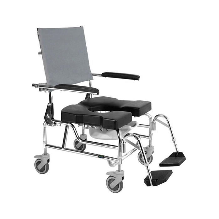 Raz design AP600 rehab shower commode chair