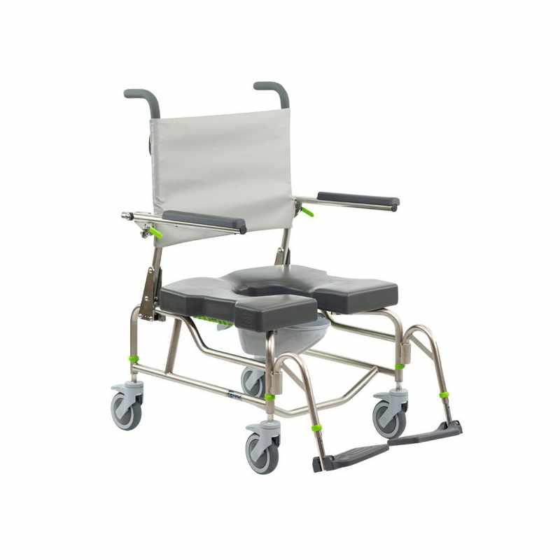Raz design AP600 rehab shower commode chair