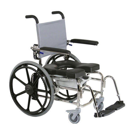 Raz design SP rehab shower commode chair
