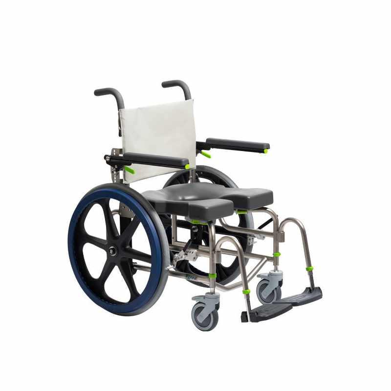 Raz design SP rehab shower commode chair