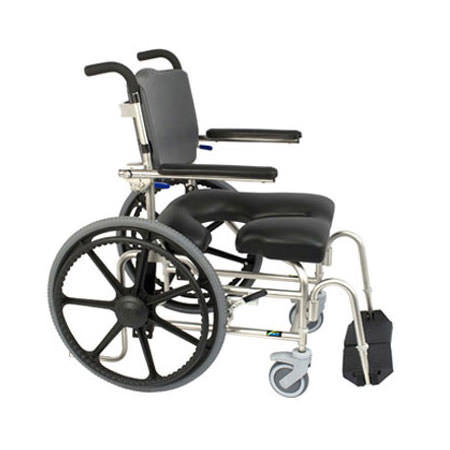Raz design self propel shower commode chair