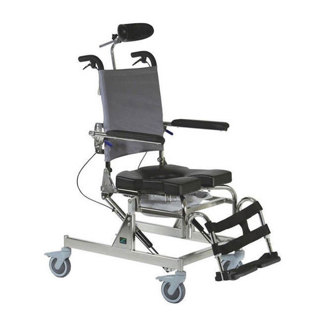 RAZ design AT rehab shower commode chair