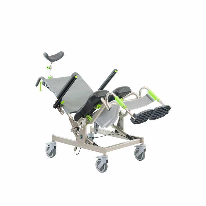 RAZ design AT rehab shower commode chair