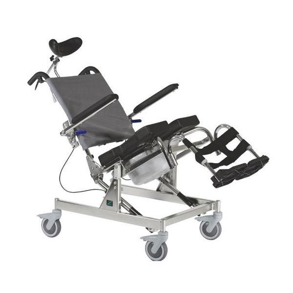 Raz design tilt shower commode chair