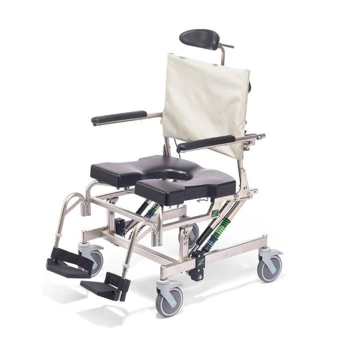 Raz design AT600 shower commode chair