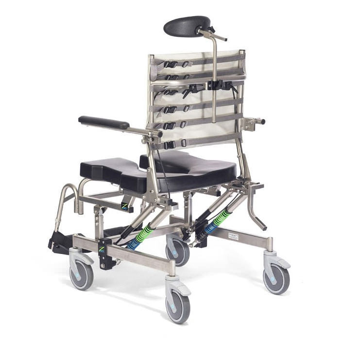 Raz AT600 shower chair - Adjustable tension fabric back