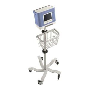 Respironics Mobile Roll Stand for Trilogy 100 Ventilator With Basket