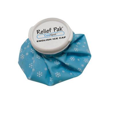 Relief Pak English ice cap reusable ice bag