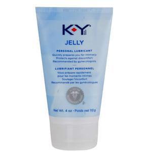 K-Y Personal Lubricant Jelly 4 oz