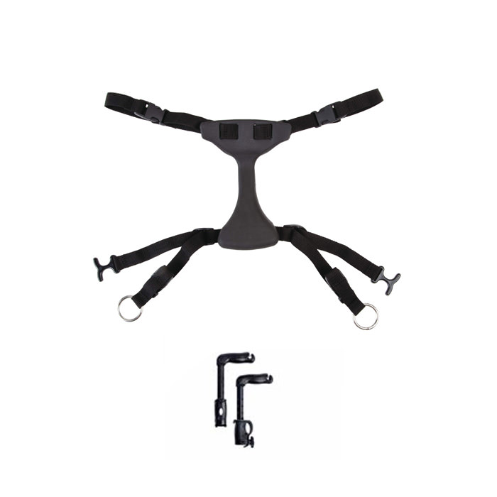 Rifton Hip Positioner with Handholds for Pacer Gait Trainer
