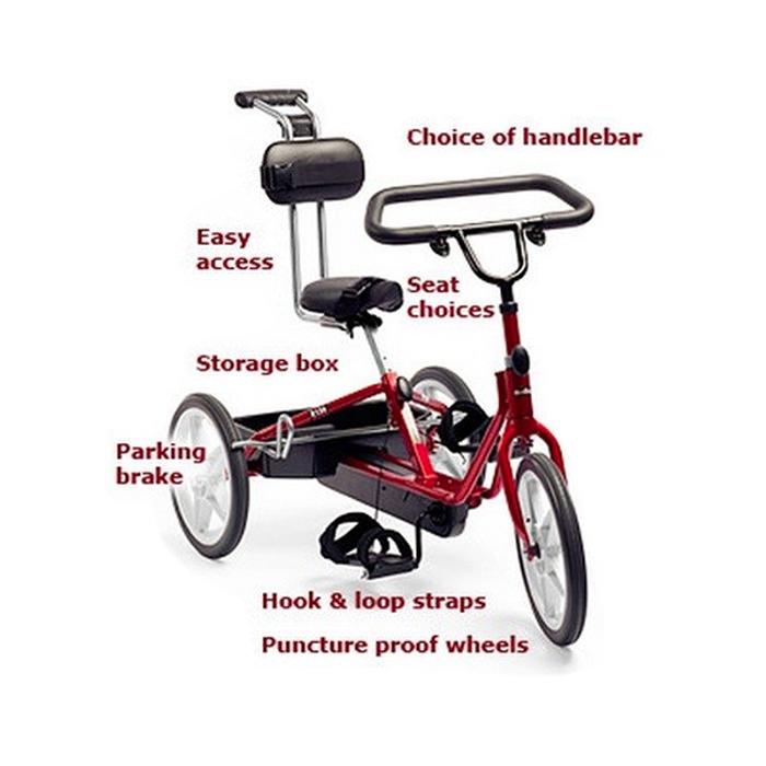 Rifton adaptive tricycle