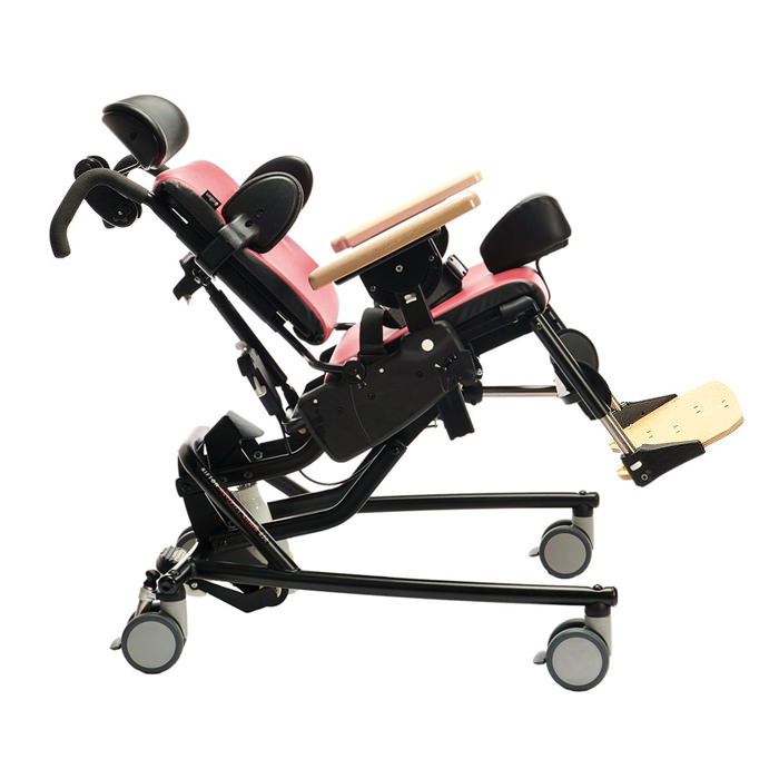 Rifton activity chair with hi-lo base