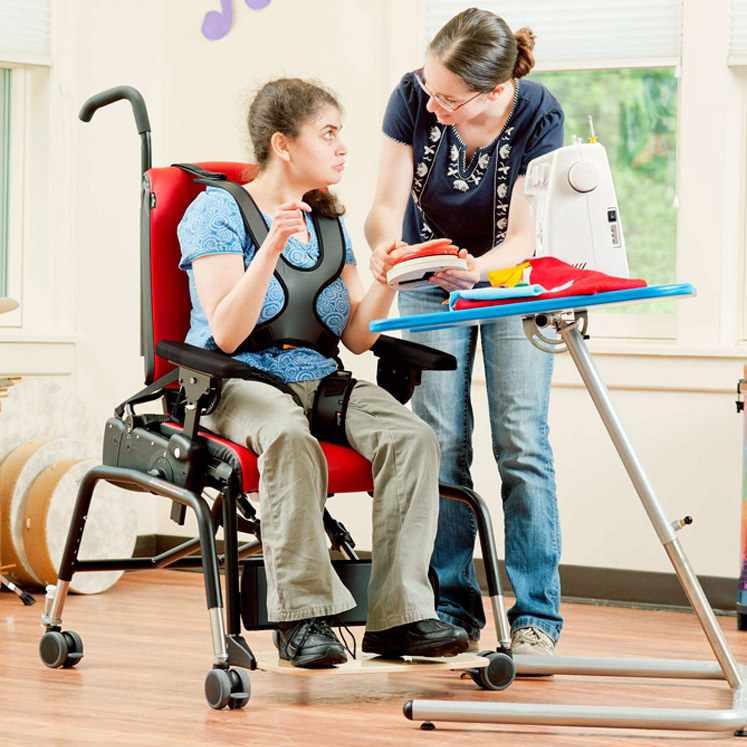 Rifton hi-lo activity chair