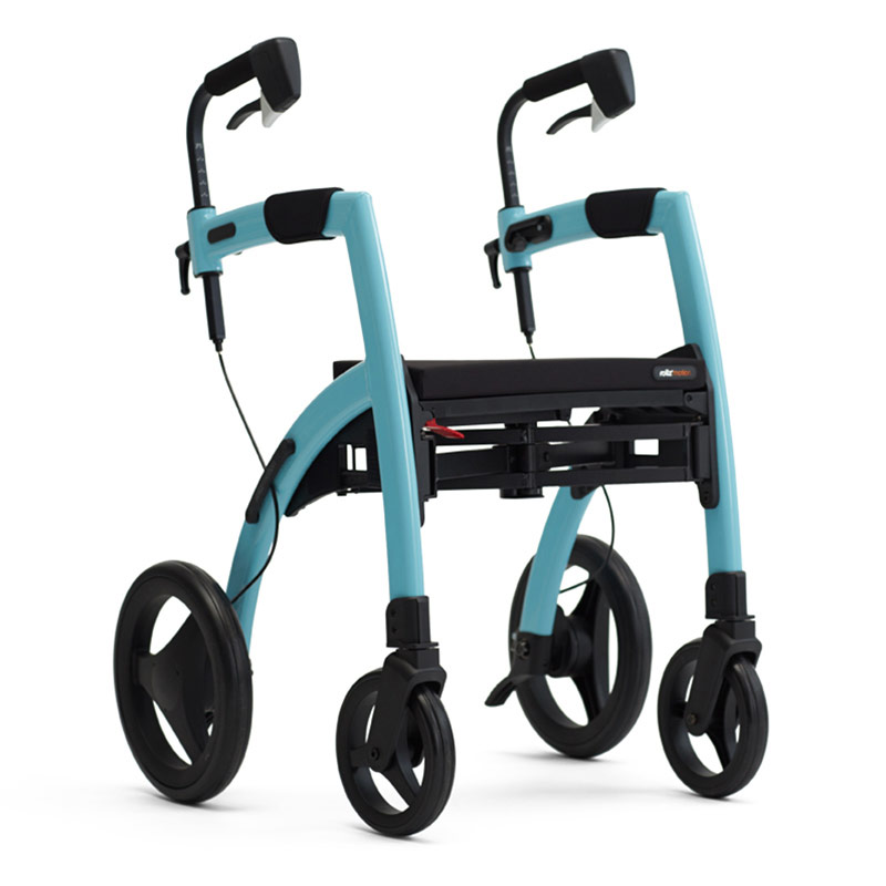 Rollz Motion2 Rollator And Transport Chair - Island blue