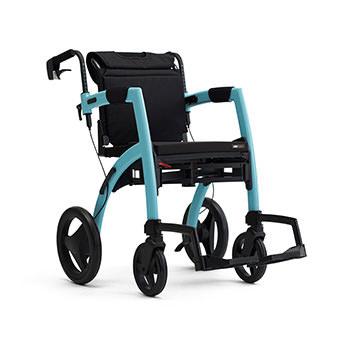 Rollz Motion2 transport chair & rollator