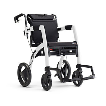 Rollz Motion2 transport chair and rollator