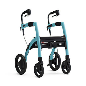 Rollz Motion2 rollator and transport chair