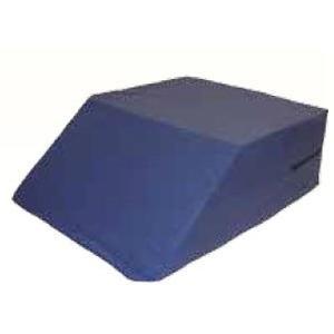 """Ortho Knee Wedge, Blue Cover, 8"""" x 20"""" x 26"""""""