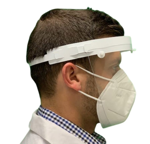 Roe Dental ShieldU PPE Headgear and Face Shield