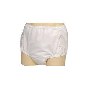 """CareFor One-Piece Snap-On Brief with Waterproof Safety Pocket Small 22"""" to 28"""""""