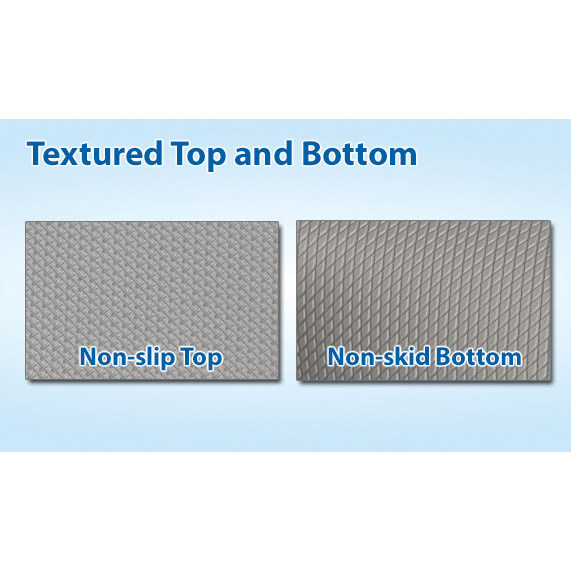 Span fall protection mat