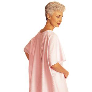 SnapWrap Deluxe Adult Patient Gown Geometric Prints One Size Fits All Unisex