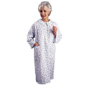 Salk The Comfort Collection Women's Patient Gown, Large/X-Large