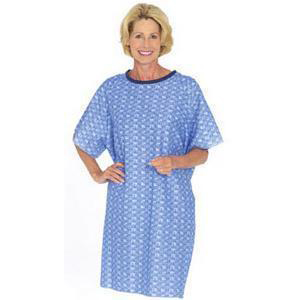 Salk Company NonSterile Cotton/Polyester Patient Exam Gown