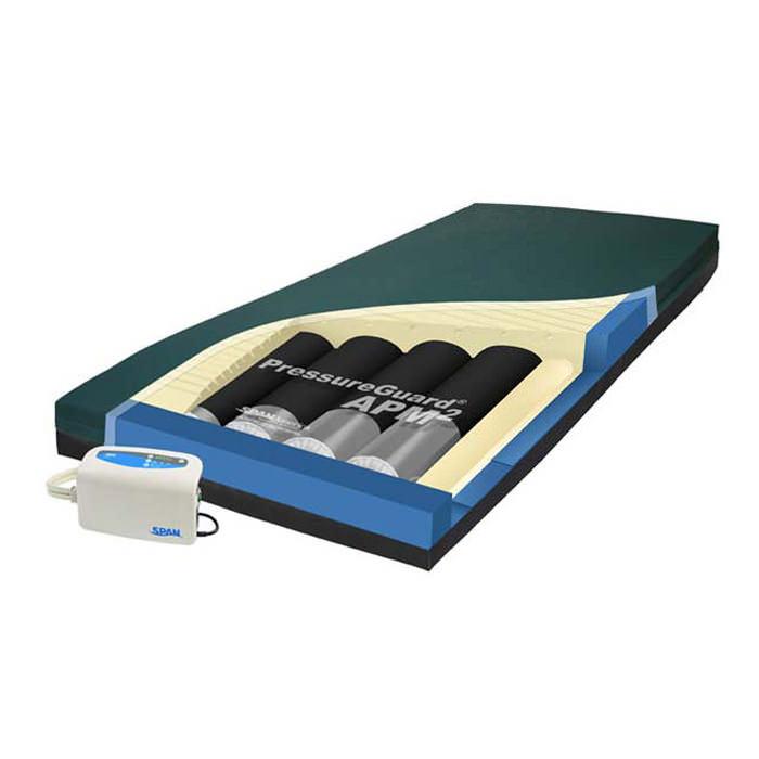Span America pressureguard APM2 mattress with digital control unit