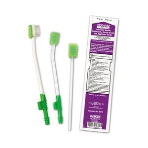 Sage Untreated Suction Toothbrush with Suction Swab and Applicator Swab