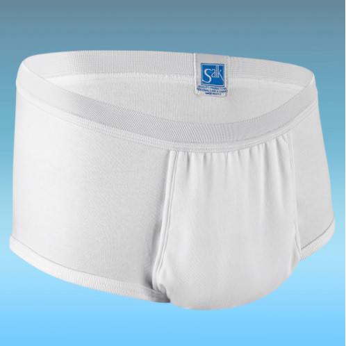"CareFor Ultra Men's Panties with Haloshield Odor Control Medium, 34"" to 36"""