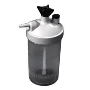 Salter Labs High Flow Humidifier Bottle, 6-15 Liters Oxygen