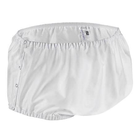 Salk Company Nylon Snap Closure Adult Protective Underwear, Large