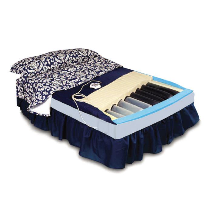 Span America In-Home Style pressureguard APM2 mattress with digital control unit