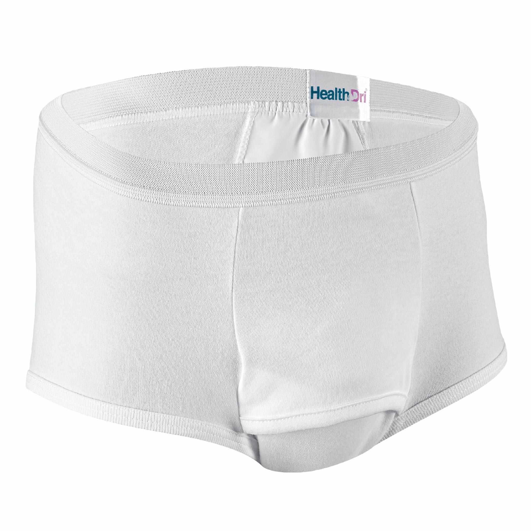 "HealthDri Men's Heavy Briefs Large, 38"" to 40"""